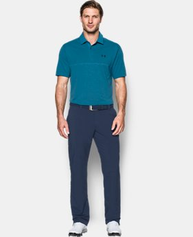Men's UA Threadborne™ Tour Jacquard Polo  1 Color $94.99