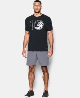 New to Outlet Men's UA Pele Cosmos T-Shirt  1  Color $26.24