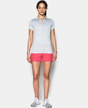 New Arrival  Women's UA Zinger Printed Polo  1 Color $74.99