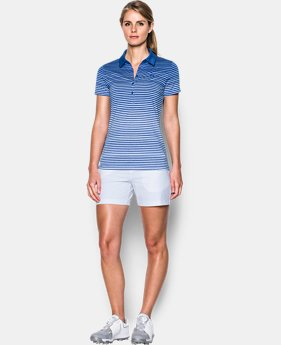 Women's UA Zinger Printed Polo  3 Colors $64.99