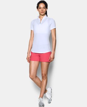 Women's UA Threadborne™ Zip Polo Shirt  1  Color Available $74.99