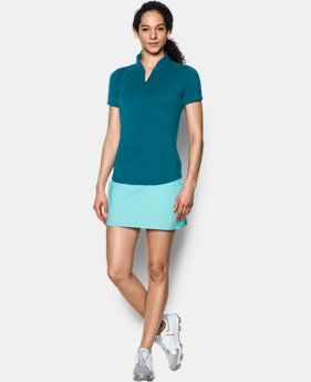Women's UA Threadborne™ Zip Polo Shirt  1 Color $52.99