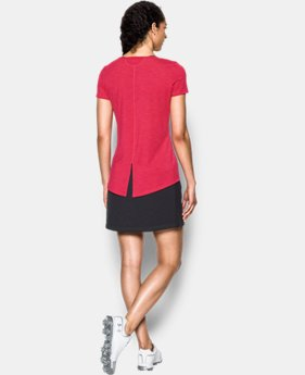 Women's UA Threadborne™ Short Sleeve Shirt  1 Color $38.99