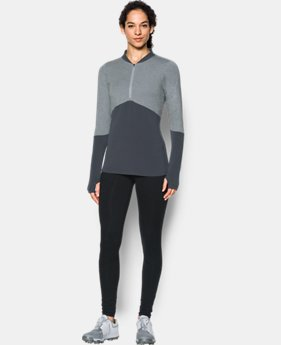 Women's UA Threadborne™ ½ Zip  1 Color $52.49