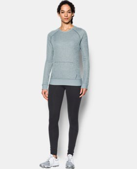 Women's UA Storm Sweaterfleece Crew  2 Colors $69.99