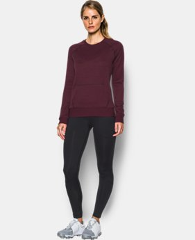 Women's UA Storm Sweaterfleece Crew  1 Color $52.49