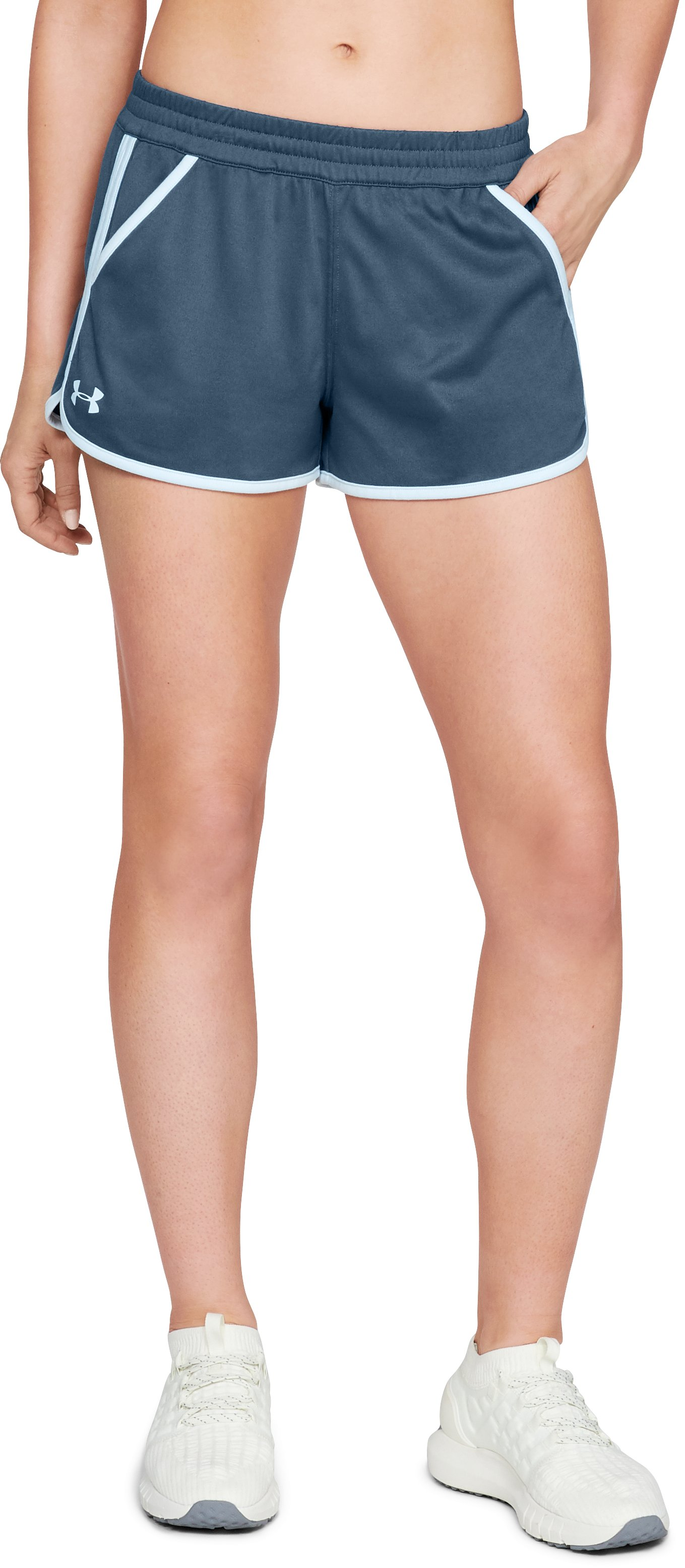 Women's UA Tech™ Shorts, STATIC BLUE