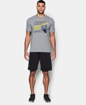 Men's UA x Muhammad Ali Cassius 3rd Bout T-Shirt  1 Color $34.99
