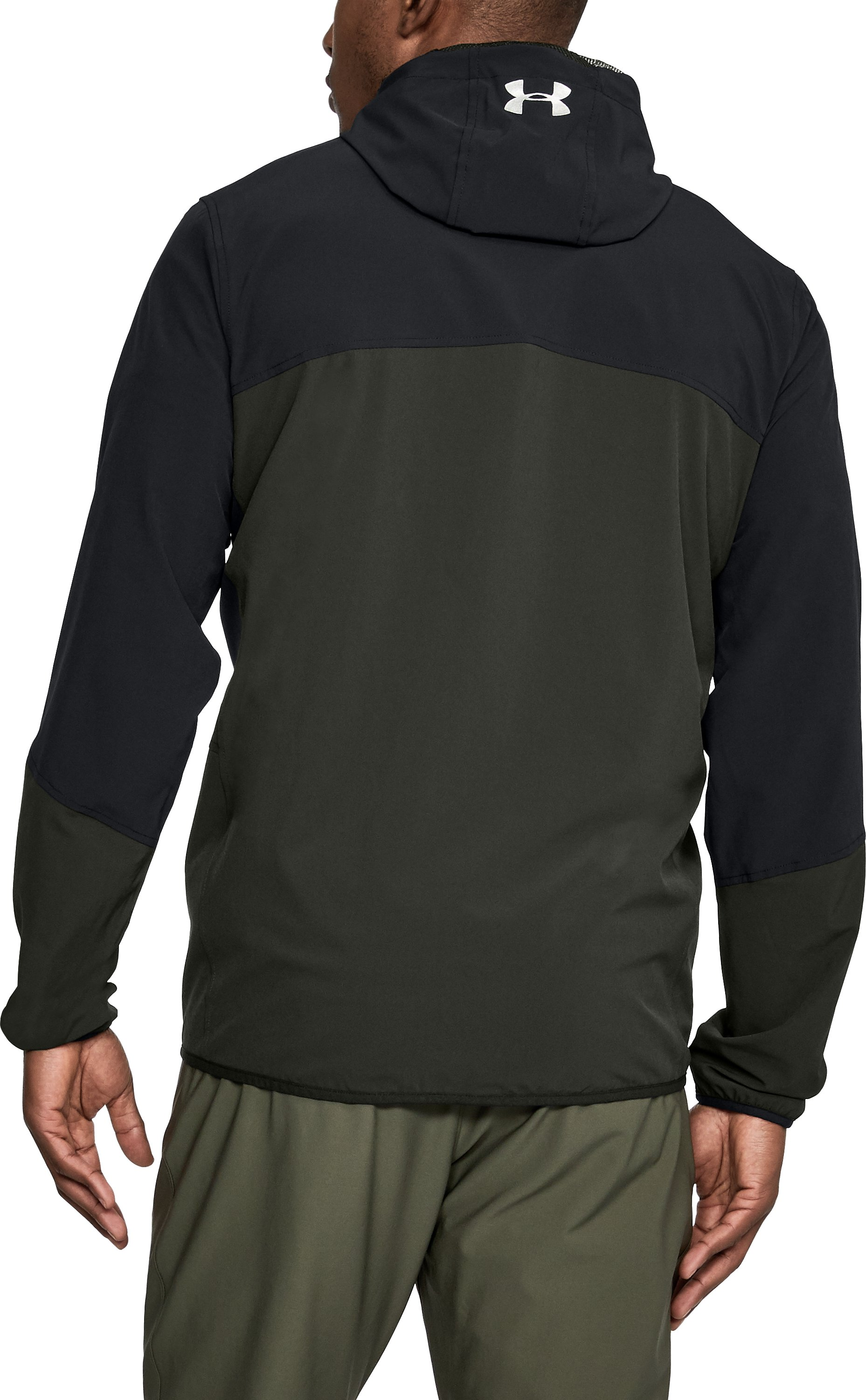 Men's UA Sportstyle Wave Jacket, Black ,