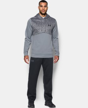 Men's UA Storm Armour Fleece® Digi Texture Hoodie  1  Color Available $41.99 to $52.99