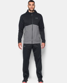 New Arrival Men's UA Storm Armour® Fleece Full Zip Hoodie  2 Colors $69.99