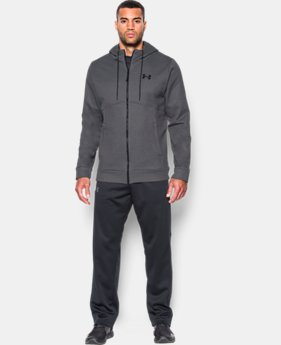 New Arrival Men's UA Storm Armour® Fleece Full Zip Hoodie  1 Color $69.99