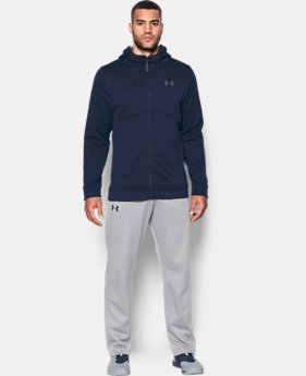 New Arrival Men's UA Storm Armour® Fleece Full Zip Hoodie  4 Colors $69.99