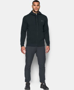 New Arrival Men's UA Threadborne™ Fleece Full Zip Hoodie  2 Colors $69.99
