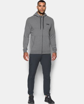 Men's UA Threadborne™ Fleece Full Zip Hoodie LIMITED TIME OFFER 1 Color $55.99