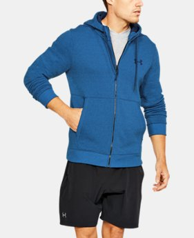 Men's UA Threadborne™ Fleece Full Zip Hoodie  3  Colors Available $69.99