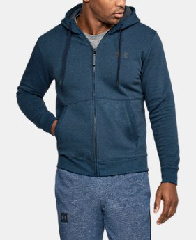 Best Seller Men's UA Threadborne™ Fleece Full Zip Hoodie  4 Colors $69.99