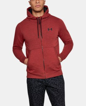 Men's UA Threadborne™ Fleece Full Zip Hoodie  3 Colors $69.99