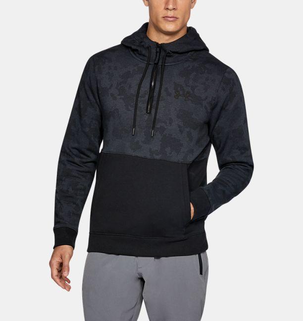 40942e83ef Men's UA Threadborne™ Fleece ½ Zip Hoodie