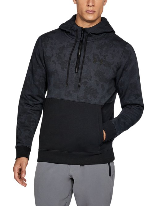 d59497f5de Men's UA Threadborne™ Fleece ½ Zip Hoodie