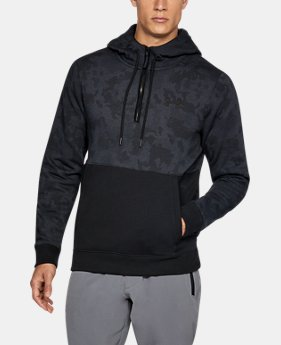 Men's UA Threadborne™ Fleece ½ Zip Hoodie LIMITED TIME OFFER 2 Colors $48.99