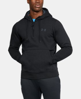Men's UA Threadborne™ Fleece ½ Zip Hoodie LIMITED TIME OFFER 3 Colors $48.99