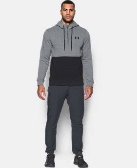 New Arrival Men's UA Threadborne™ Fleece ½ Zip Hoodie  2 Colors $69.99