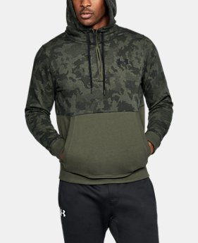Men's UA Threadborne™ Fleece ½ Zip Hoodie LIMITED TIME OFFER 2 Colors $55.99