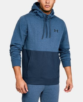 Men's UA Threadborne™ Fleece ½ Zip Hoodie  4  Colors Available $69.99