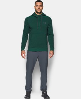 New Arrival Men's UA Threadborne™ Fleece ½ Zip Hoodie  1 Color $69.99