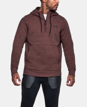 Men's UA Threadborne™ Fleece ½ Zip Hoodie  5 Colors $69.99