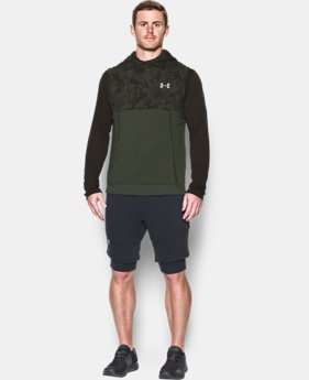 Men's UA Threadborne™ Fleece Sleeveless Hoodie  1 Color $79.99