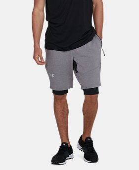 Men's UA Threadborne™ Fleece Shorts  4 Colors $79.99