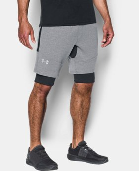 Men's UA Threadborne™ Fleece Shorts LIMITED TIME OFFER 1 Color $55.99
