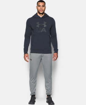 Men's UA Stretch Fleece Graphic Hoodie LIMITED TIME OFFER 1 Color $41.99