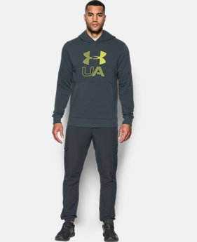 Men's UA Stretch Fleece Graphic Hoodie LIMITED TIME OFFER 7 Colors $48.99