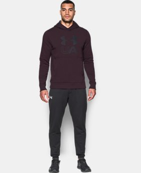 New Arrival  Men's UA Stretch Fleece Graphic Hoodie  1 Color $69.99