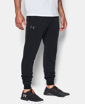 Best Seller Men's UA Threadborne™ Fleece Stacked Joggers  1  Color Available $69.99