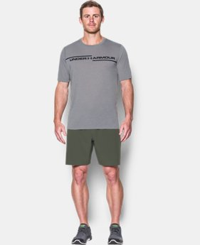 Men's UA Threadborne Cross Chest T-Shirt  1 Color $32.99