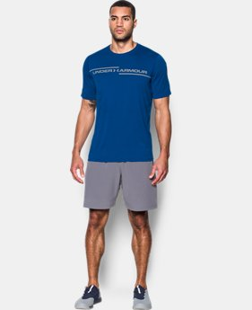Best Seller Men's UA Threadborne Cross Chest T-Shirt  1 Color $24.74