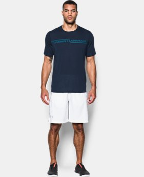 Best Seller Men's UA Threadborne Cross Chest T-Shirt  2 Colors $32.99
