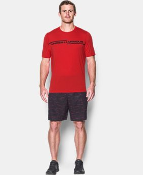 Best Seller Men's UA Threadborne Cross Chest T-Shirt  1 Color $32.99 to $349