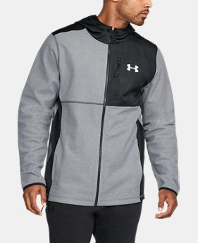 New Arrival Men's UA ColdGear® Infrared Fleece Heavy Full Zip Hoodie  4 Colors $79.99