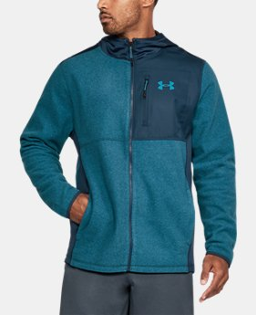 Men's UA ColdGear Infrared® Fleece Heavy Full Zip Hoodie  2  Colors Available $53.99