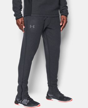 Men's UA ColdGear Infrared® Fleece Tapered Pants  1 Color $69.99