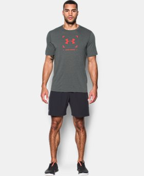 Men's UA Threadborne Target Logo T-Shirt  1 Color $29.99 to $39.99