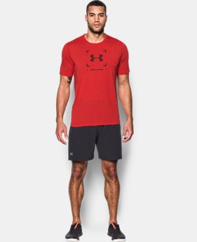 Men's UA Threadborne Target Logo T-Shirt  1 Color $29.99