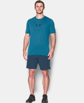 Men's UA Threadborne Target Logo T-Shirt  2 Colors $23.09
