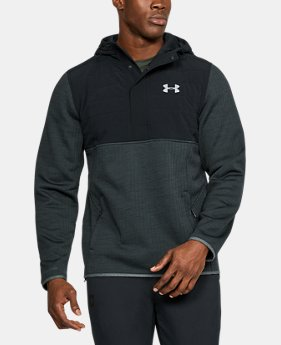 Best Seller Men's UA Henley Swacket  4  Colors Available $124.99