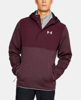 Men's UA Henley Swacket  1  Color Available $74.99